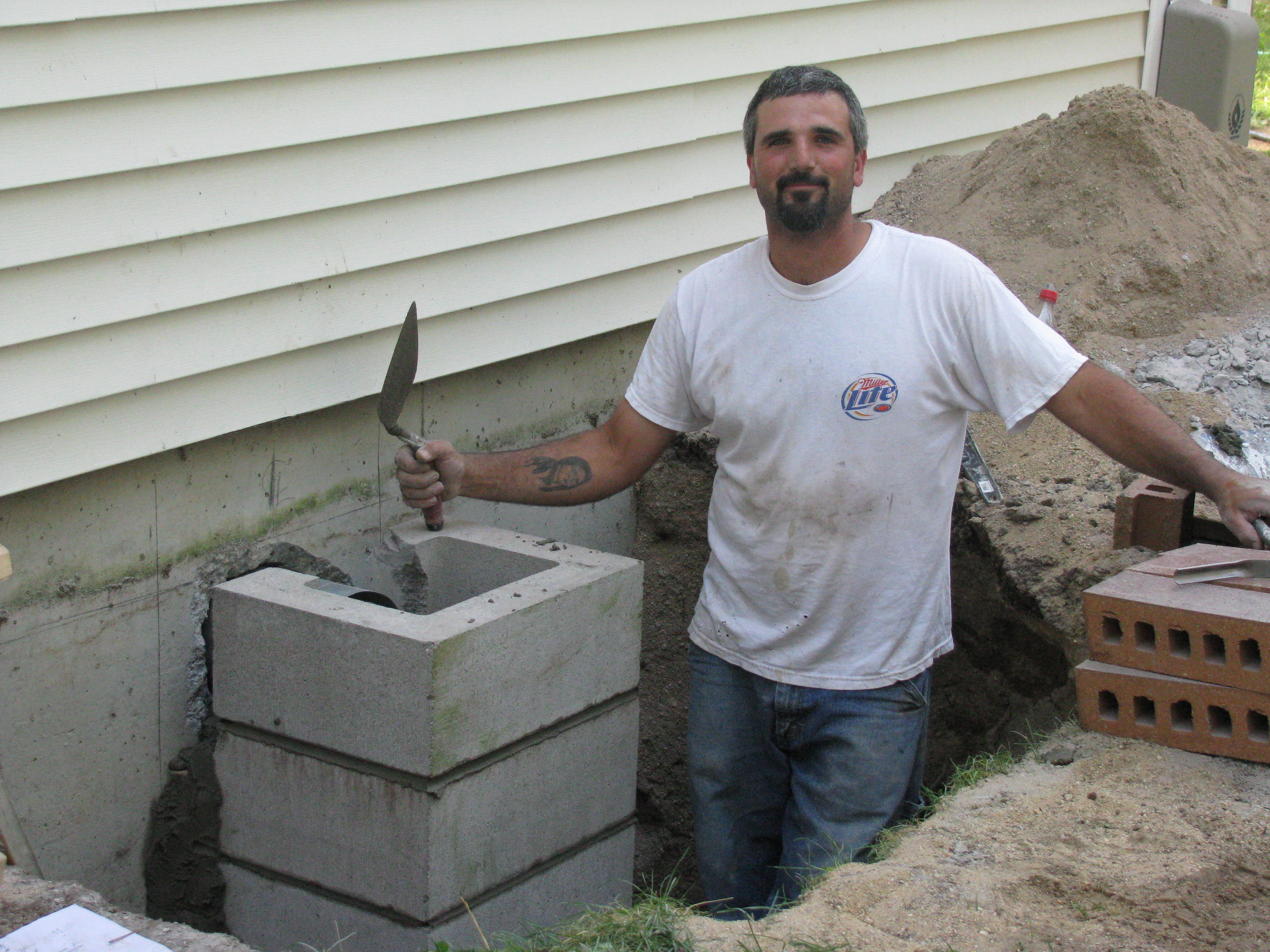 How To Build A Block Chimney For A Wood Stove